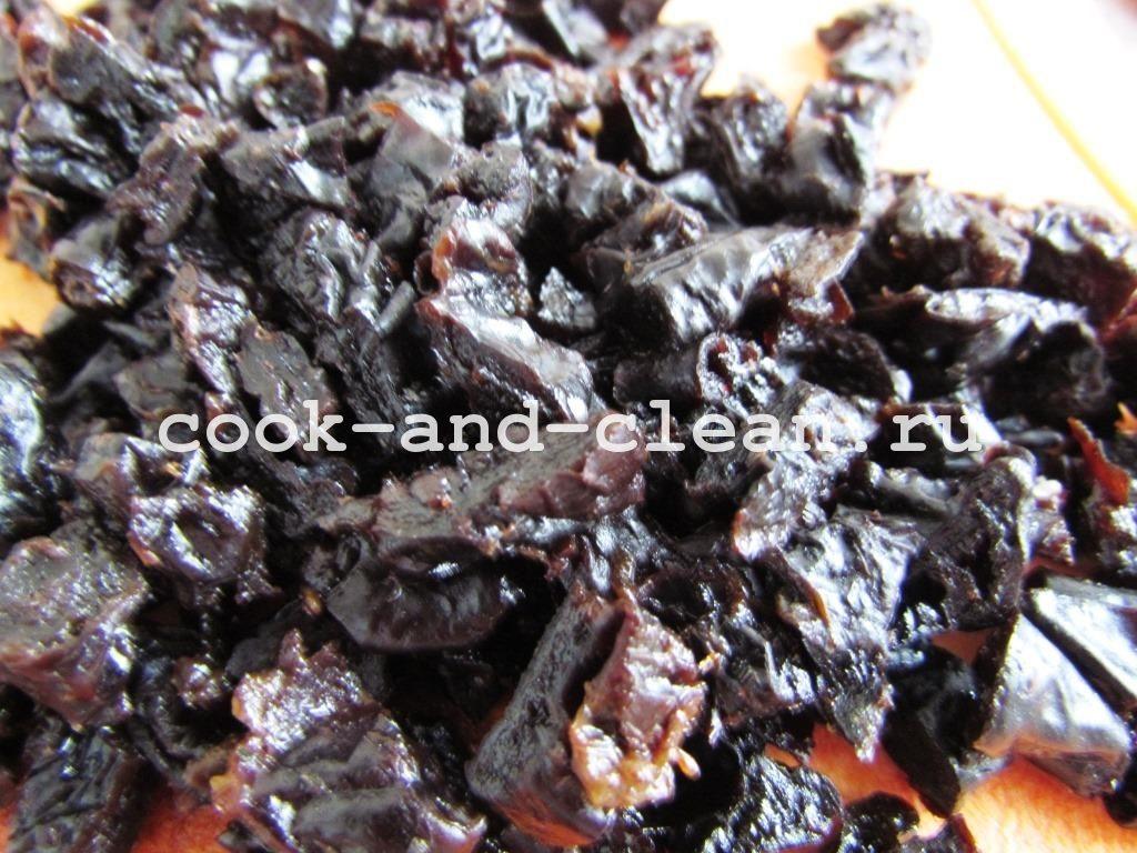 салаты с черносливом рецепты