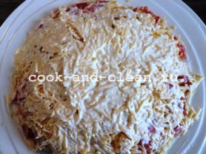 салат блондинка пошаговый рецепт с фото