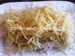 салат блондинка рецепт с фото пошагово