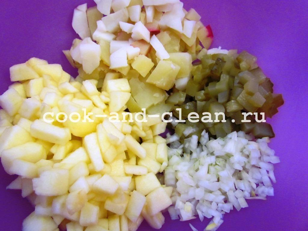салат с селёдкой рецепты