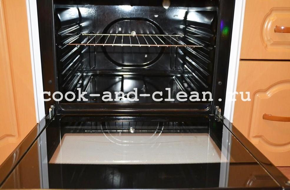 чистая плита