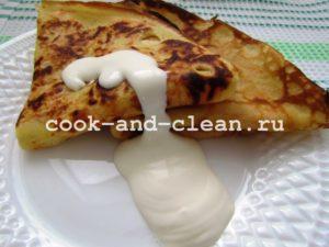 блины из яиц рецепт