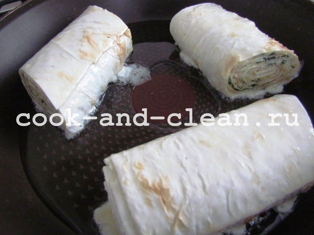 вкусные закуски из лаваша