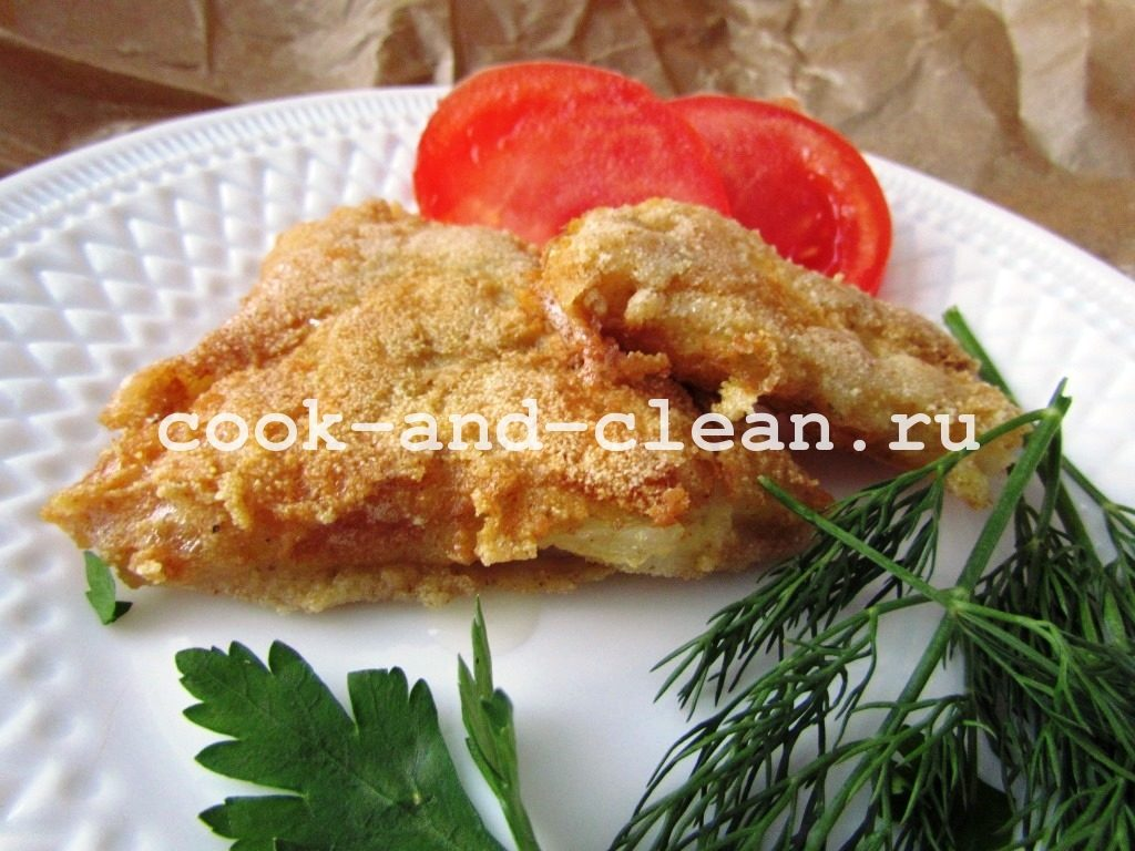как приготовить филе рыбы