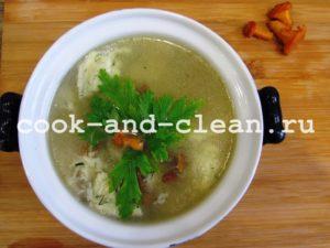 клецки для супа рецепт приготовления