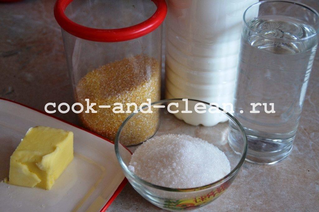 кукурузная каша рецепт