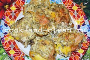 куриные бедрышки в духовке рецепт