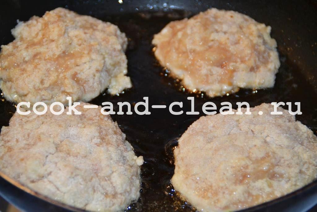 куриные котлеты пошаговый рецепт
