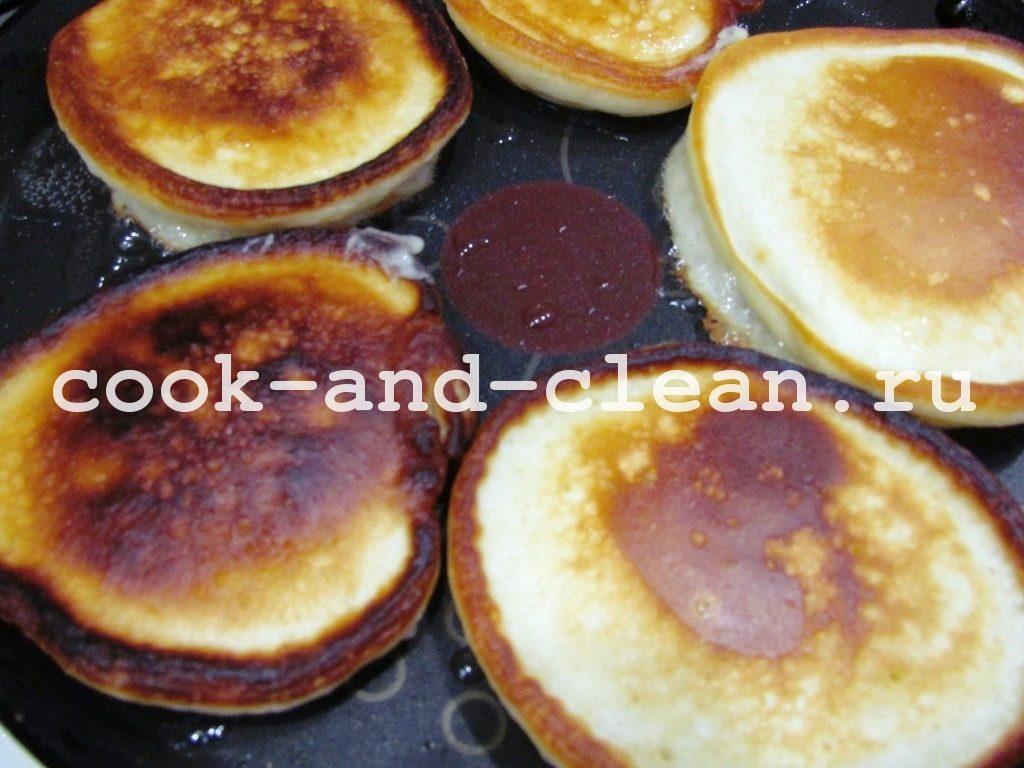 оладушки на кефире рецепт с фото пошагово
