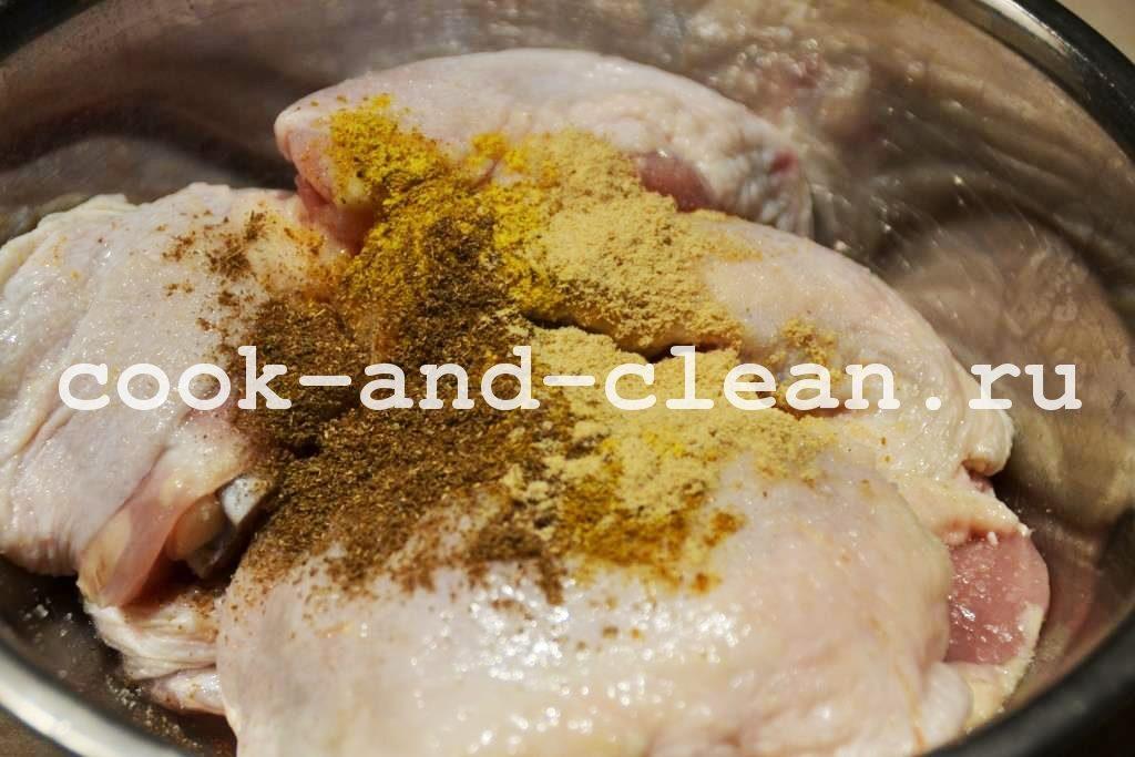 рецепт куриных бедрышек с сыром