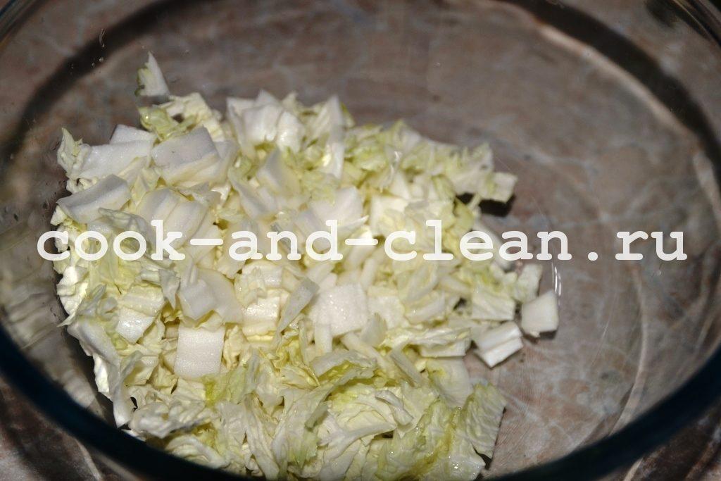 салат со спаржей рецепт