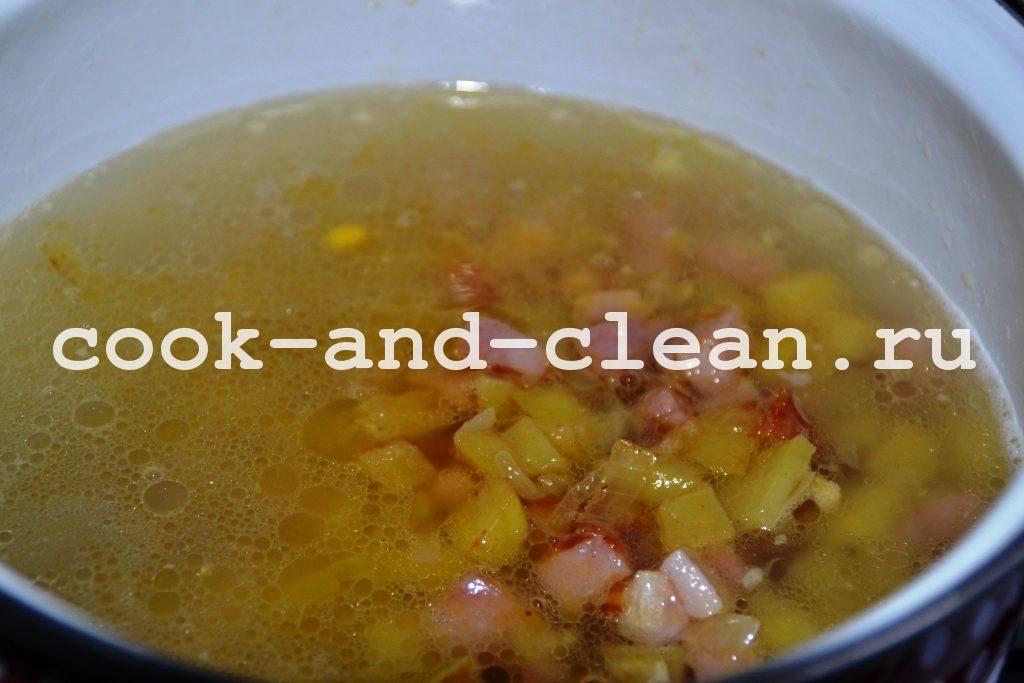 супы со сливками рецепты