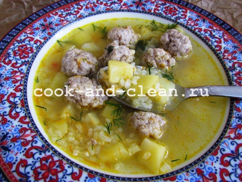 суп с фрикаделькамисуп с фрикадельками
