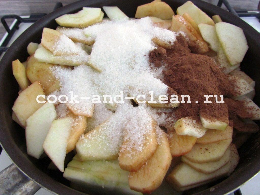 штрудель яблочный рецепт пошаговый