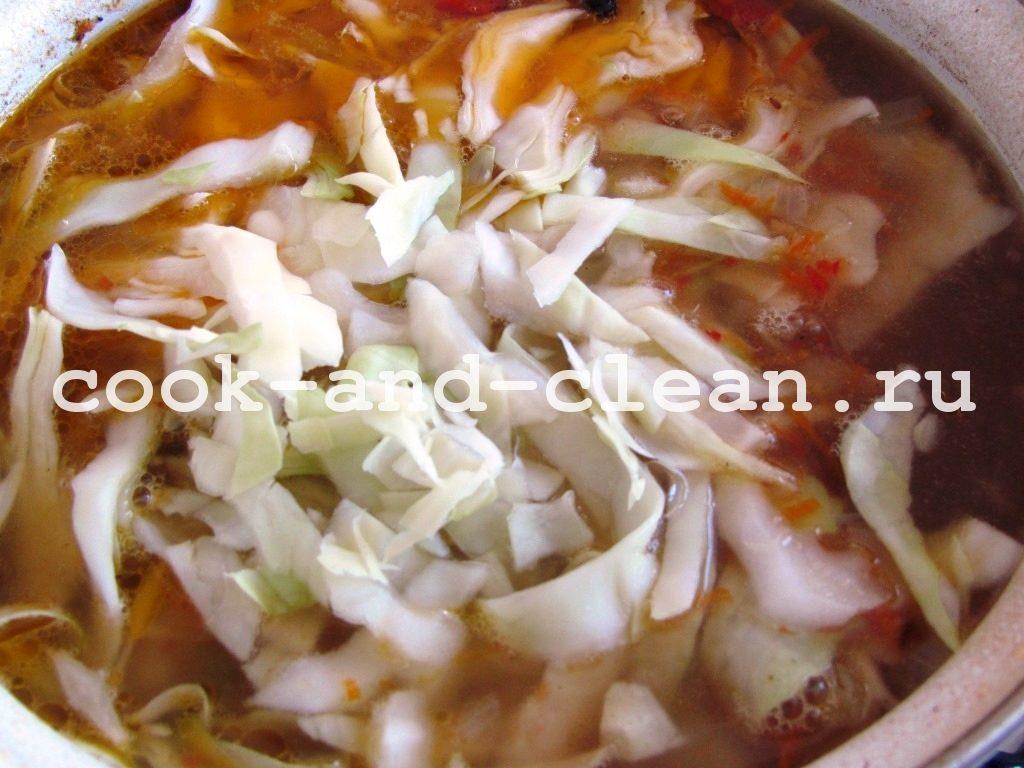 вкусные щи со свежей капустой