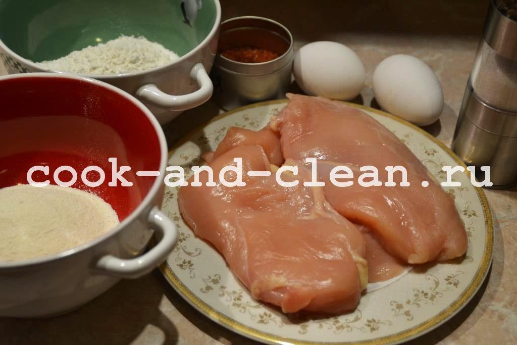 домашние наггетсы куриные панировка