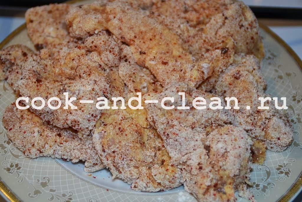 как приготовить куриные наггетсы