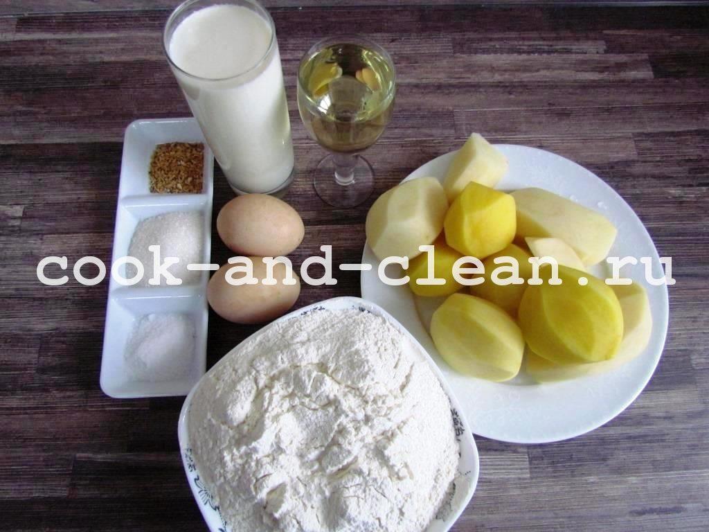 картофельные блинчики рецепт