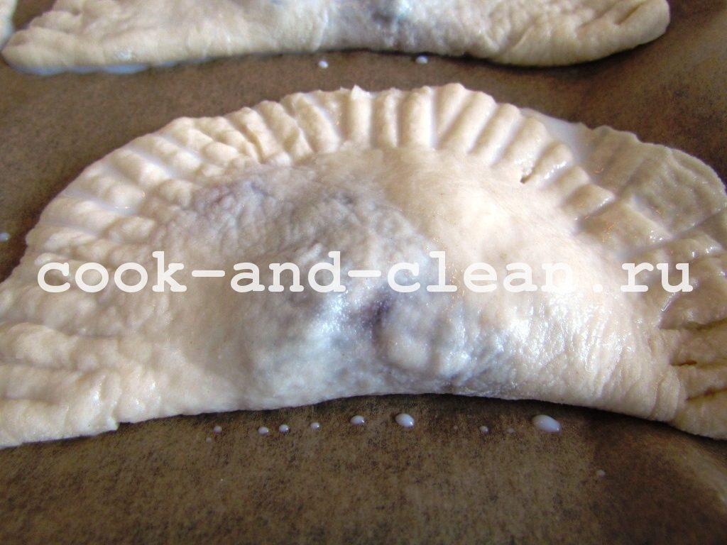 пирожки с повидлом в духовке пошаговый