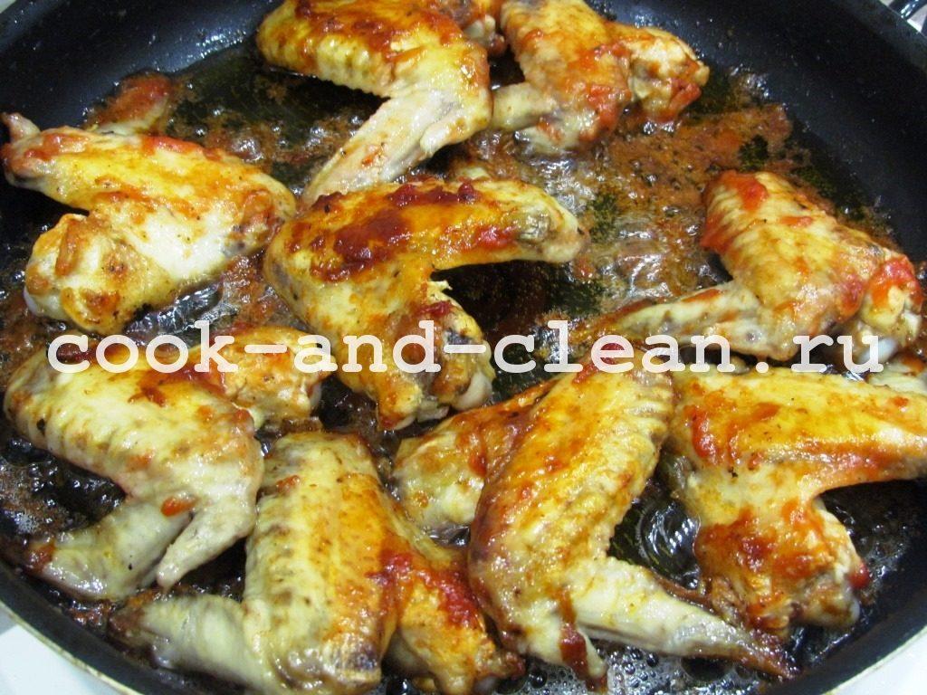 приготовление крылышек куриных