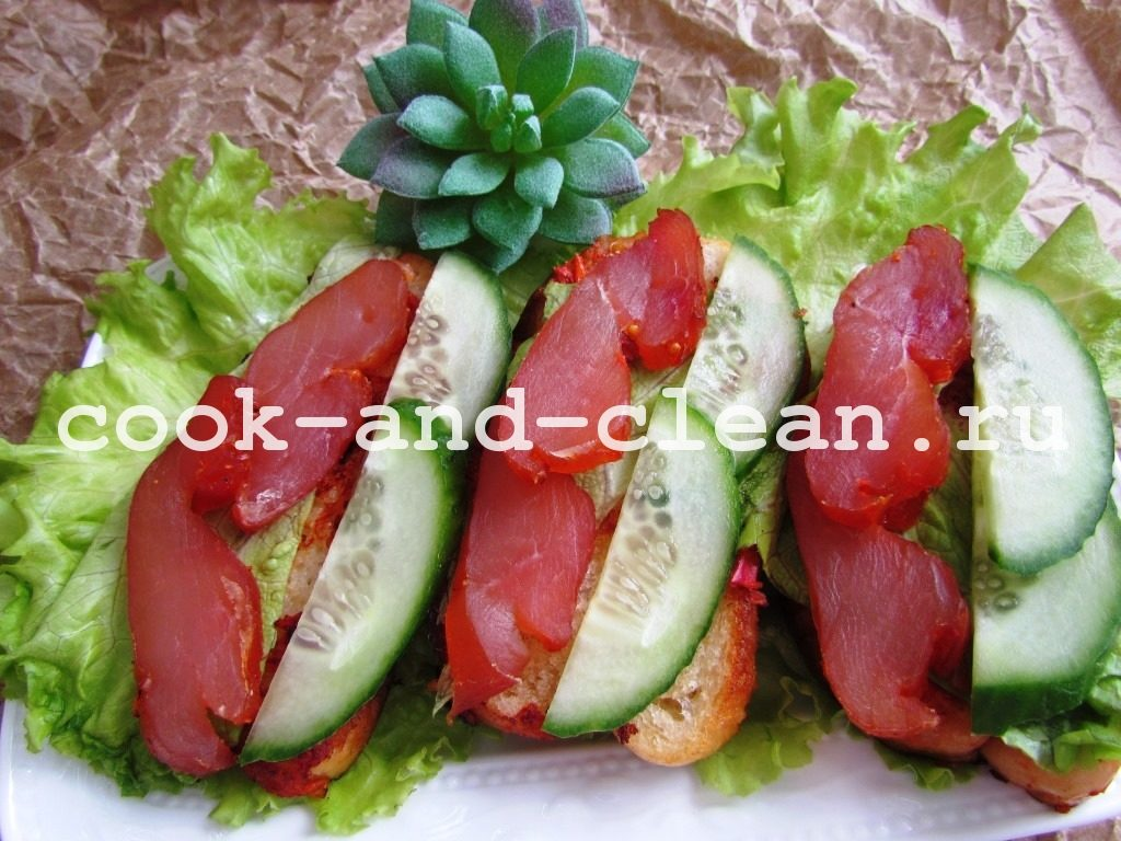 простые вкусные бутерброды фото