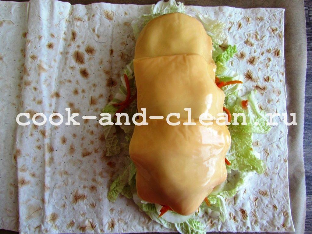рецепт домашней шаурмы