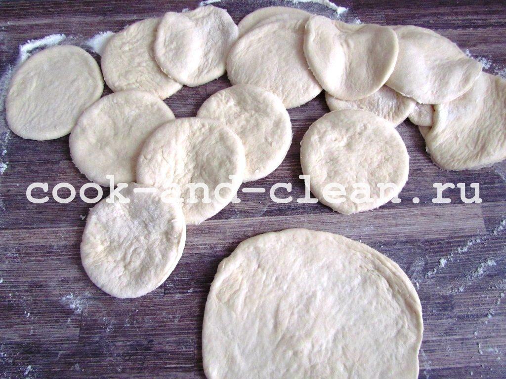 рецепт пирожков с повидлом в духовке