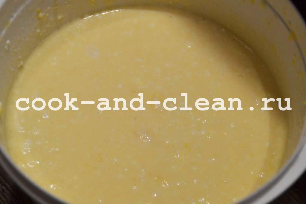 рецепт творожного пирога в духовке