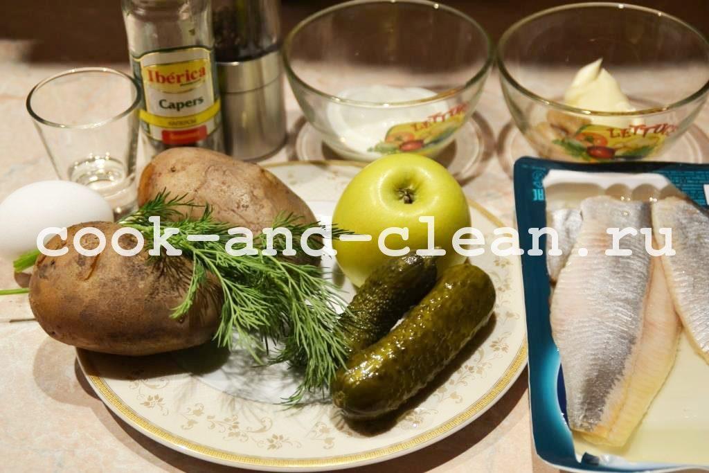 салат с сельдью рецепты с фото