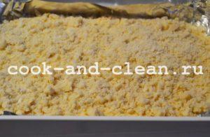 творожный пирог с крошкой рецепт