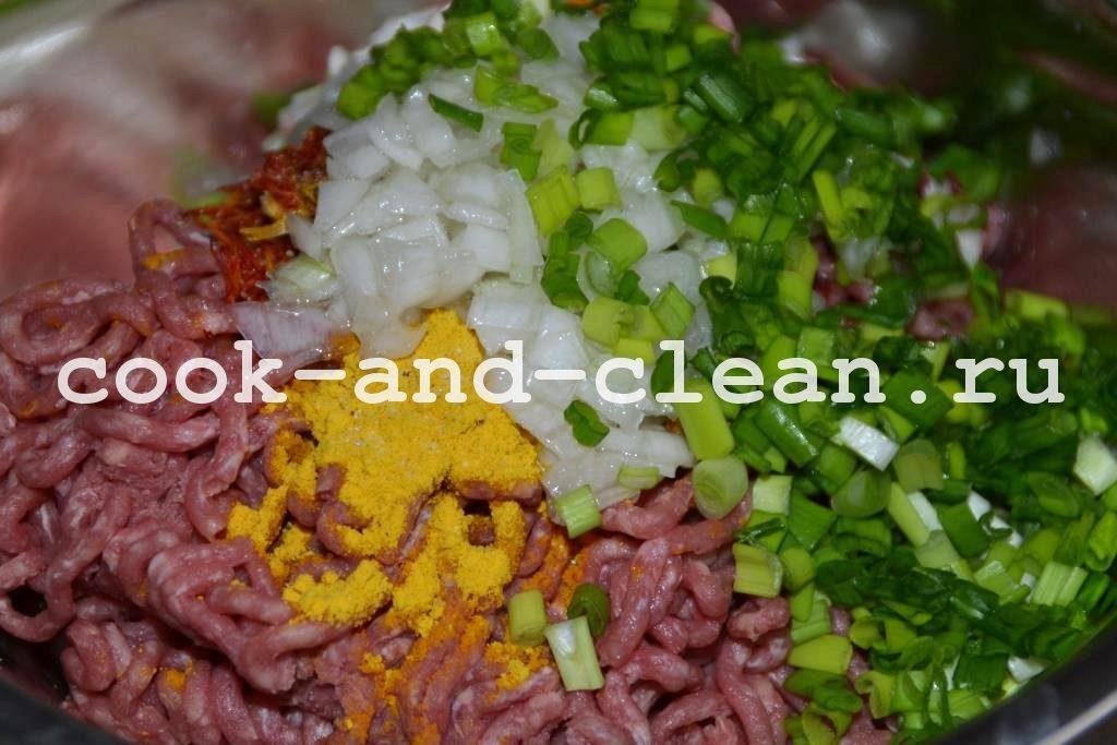домашний кебаб в духовке
