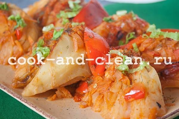 как приготовить капустные язычки
