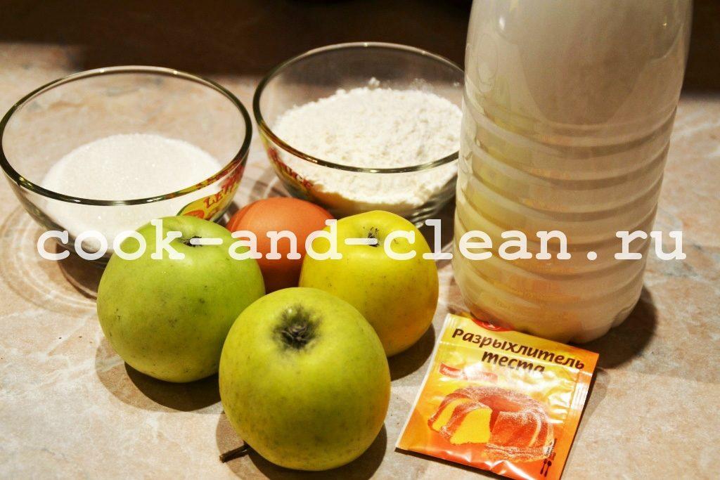 оладьи с яблоками пышные рецепт