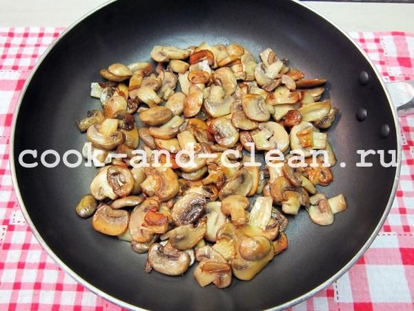 рецепт супа из шампиньонов