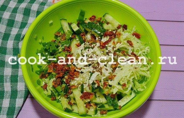 салат из черемши с майонезом