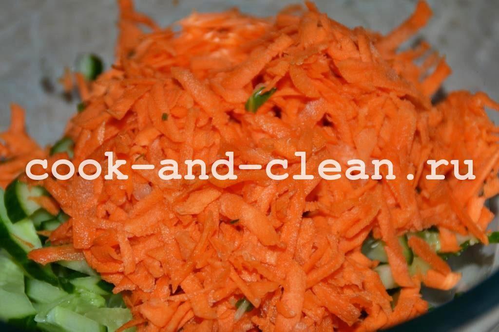 салат с рисовой лапшой рецепты