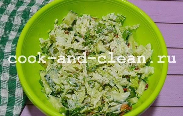салат с черемшой рецепты с фото пошагово