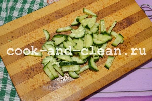 салат с черемшой рецепты с фото