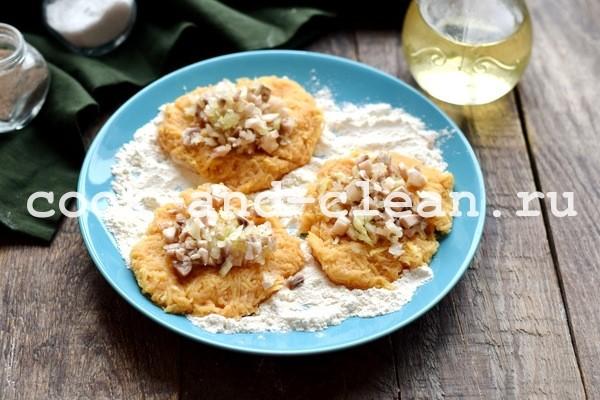 Колдуны из картофеля в духовке