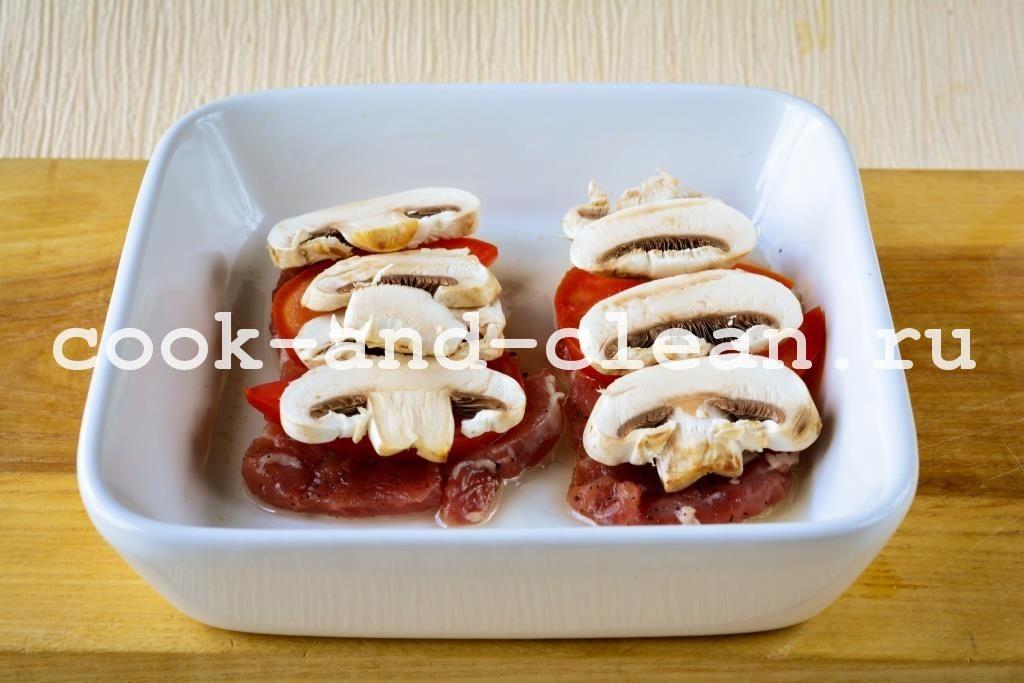 мясо по царски рецепт с фото