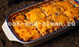 приготовить картофель курица грибы