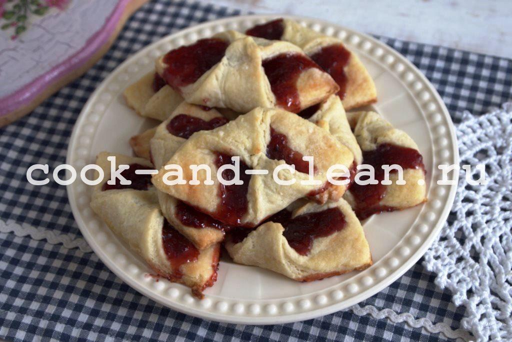 приготовление творожного печенья