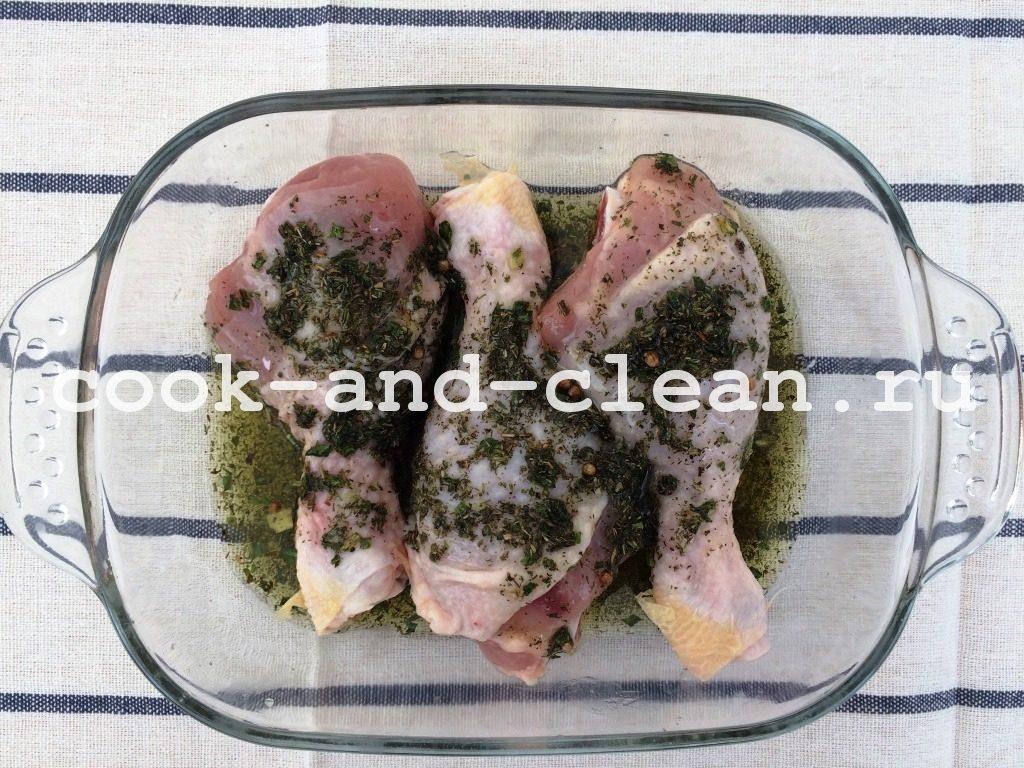 рецепты запекания куриных ножек