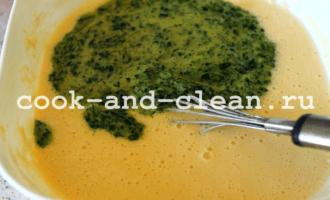 как приготовить блины со шпинатом