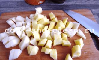квашеная капуста картофель