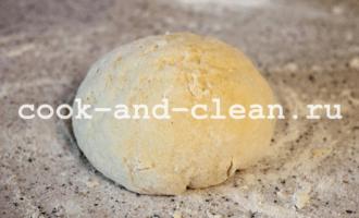 рецепт несладкой выпечки