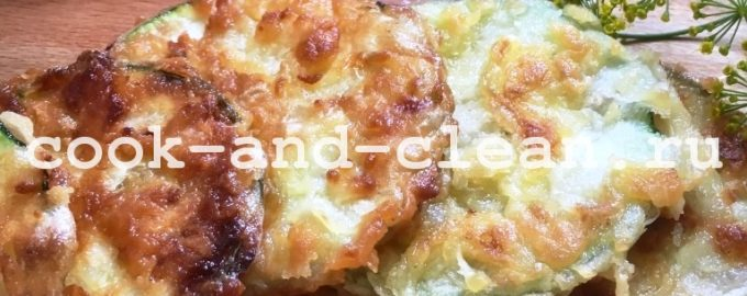 блюда из молодых кабачков рецепты