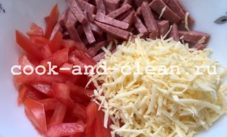 как приготовить салат из помидор