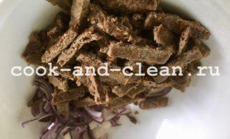 салат из куриной печени рецепт вкусный