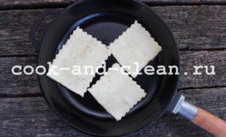 слойки на сковороде рецепт с фото